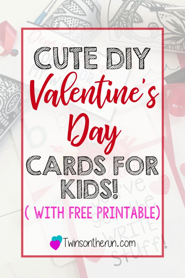 Cute Valentines Day Card Ideas for Kids!