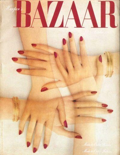 Harper's Magazine Covers Vintage | Harper's Bazaar magazine cover from 1947 - Found in Mom's Basement