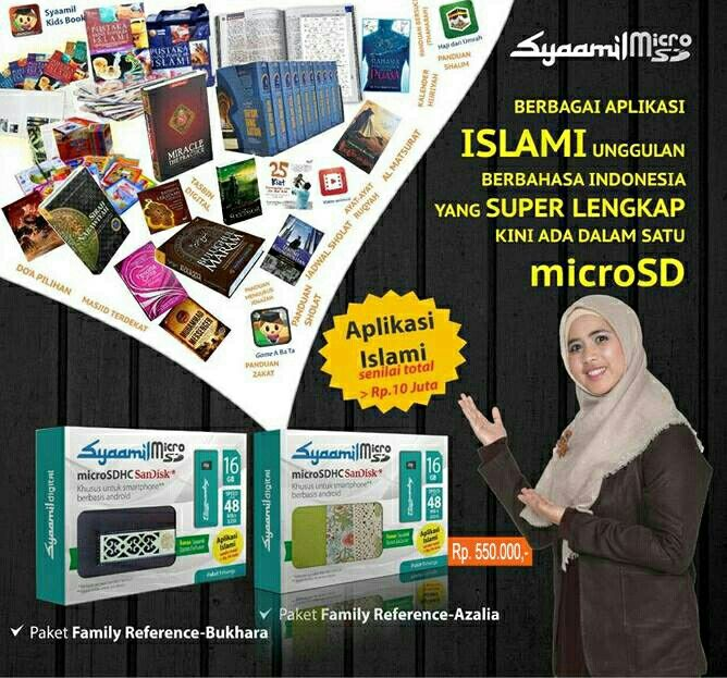 Micro sd syaamil aplikasi terlengkap