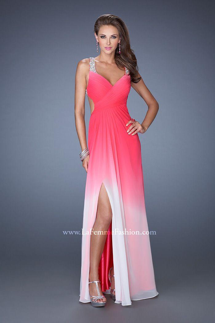 rhinestone strap chiffon evening dress – fashion dresses