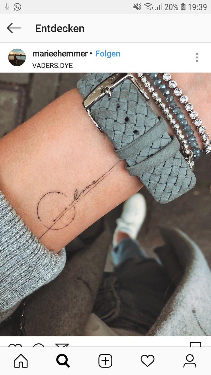 Ich liebe dieses Tattoo, aber ich hätte ein anderes Wort.