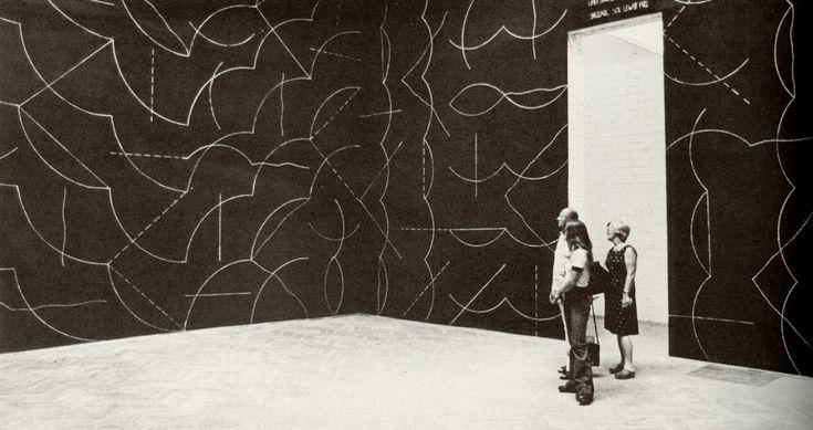 Sol LeWitt, Wall drawing | Blog philo jm