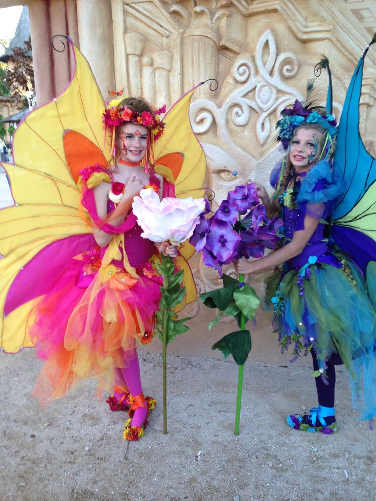Fantásticos estos disfraces de mariposa | Fairy Costumes