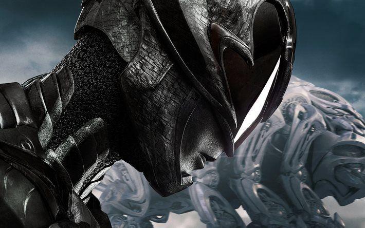 Télécharger fonds d'écran Power Rangers, En 2017, de Nouveaux films, d'affiches, Jason Scott Lee