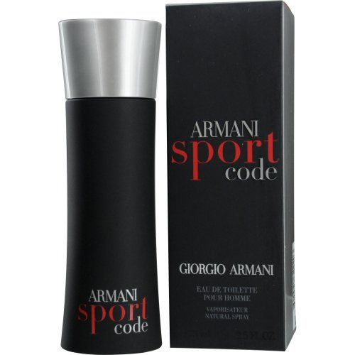 Giorgio Armani Code Sport for Men Eau De Toilette Spray, 2.5 Ounce for $49.95