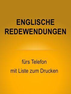 Geschäftlich telefonieren – auf Englisch – mit Liste zum Drucken – Mona Justus