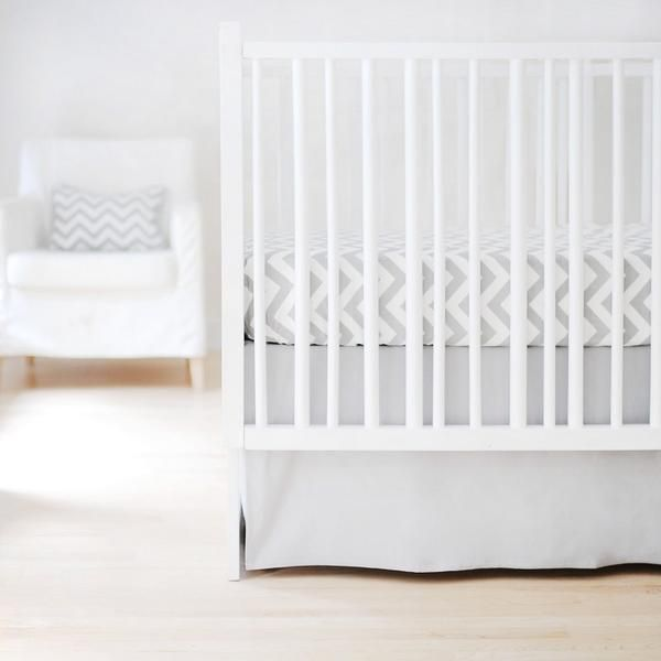 This special baby crib sheet would look exceptional with any luxury baby bedding set.