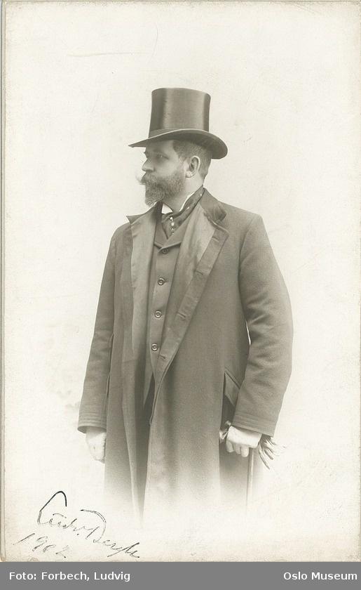 Frock Coat Top Hat Dog S Head