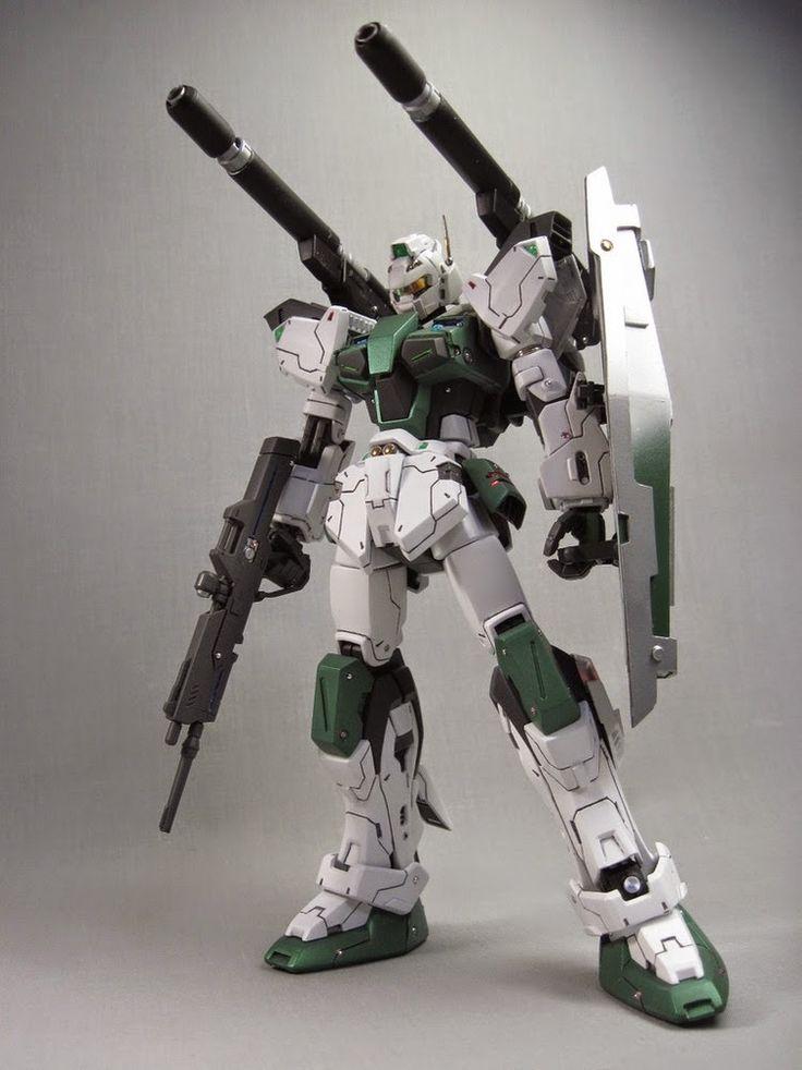 1/100 Mass Production Buster Gundam - Custom Build - Gundam Kits Collection News and Reviews