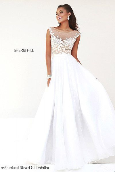 Would be a great wedding dress!