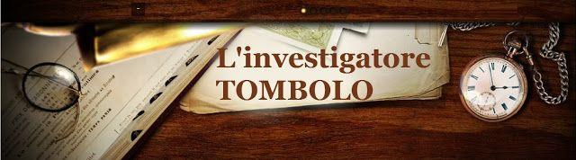 Fabio Marazzoli: Nuova pagina sull'investigatore Tombolo con tante ...