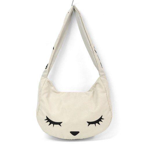 Amazon.co.jp: [フラッパー] FLAPPER おっかけ プーちゃん 猫 ショルダーバッグ (IVORY): シューズ&バッグ:通販