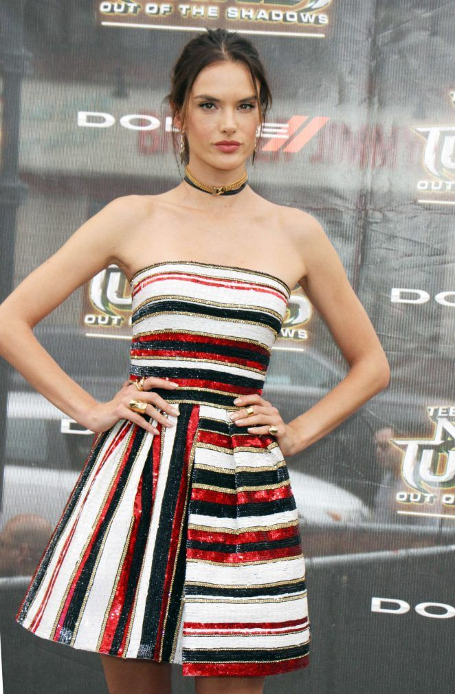 Alessandra Ambrosio - 'Teenage Mutant Ninja Turtles: Out Of The Shadows' Premiere in NYC