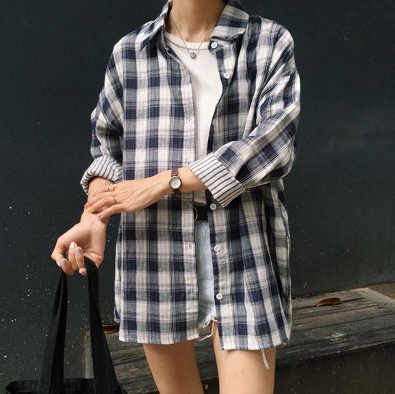 """raichuus:  """"similar flannel; top ; shorts  Keep reading  """""""