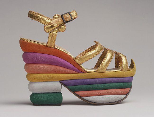 Ankle-strap sandal, 1938  Designed by Salvatore Ferragamo (Italian, 1898–1960)