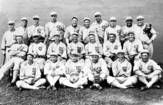 The Chicago White Sox lost to the Cincinnati Reds during the 1919 World Series and eight players were later accused of fixing the series. The 1921 Black Sox trial acquitted the eight ball players, but they were banned for life from playing professional baseball. The eight acquitted players are White Sox pitcher Eddie Cicotte, first baseman Arnold 'Chick' Gandil, shortstop Charles 'Swede' Risberg, center fielder Oscar 'Happy' Felsch, pitcher Claude 'Lefty' Willi...