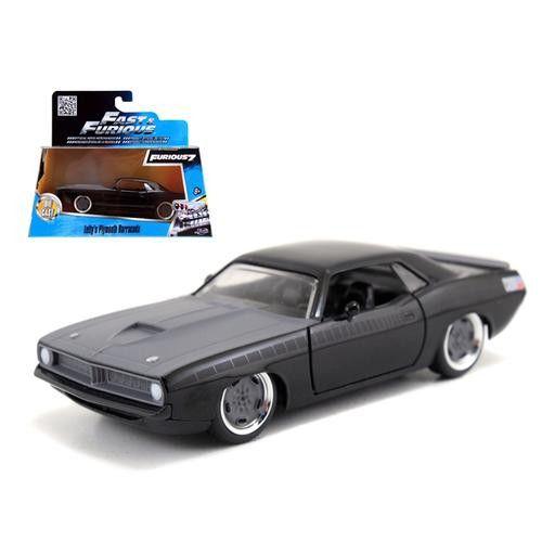 "Letty's Plymouth Barracuda ""Fast & Furious 7"" Movie 1/32 Diecast Model Car by Jada"