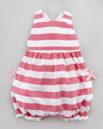 Lazebrure Striped Playsuit by Lili Gaufrette at Neiman Marcus.
