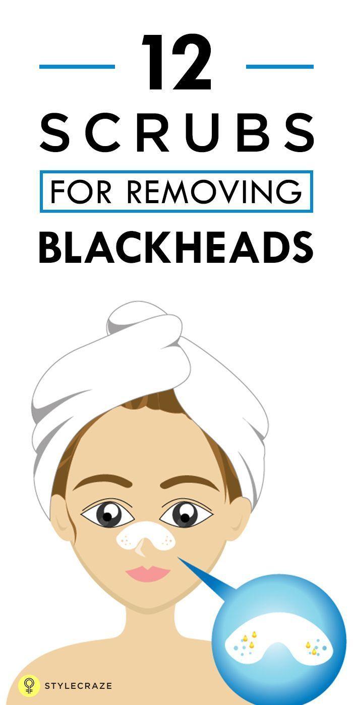 When skin pores are clogged with oil or debris blackheads are
