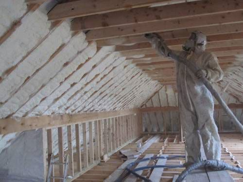 Image result for spray foam insulation professionals