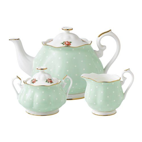 Royal Albert Polka Rose 3 Piece Set- Teapot, Covered Sugar and Creamer Royal Albert,http://www.amazon.com/dp/B007R4MQWM/ref=cm_sw_r_pi_dp_SBNwtb09W2EV0SY3