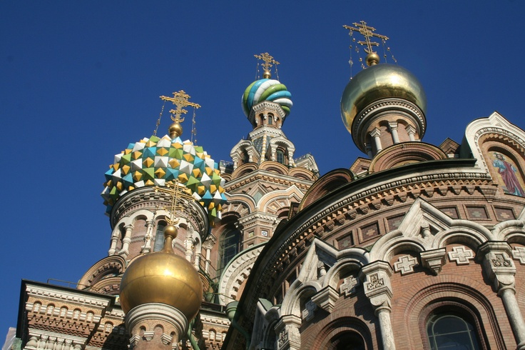 St Petersburg, Russia - The Church of our Savior on Spilled Blood