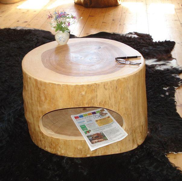 die besten 25 baumstamm tisch ideen auf pinterest baumstamm couchtisch esstisch baumstamm. Black Bedroom Furniture Sets. Home Design Ideas