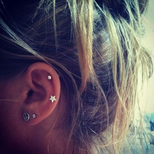 I like the height of the star piercing