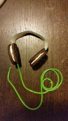 Oreo koptelefoon