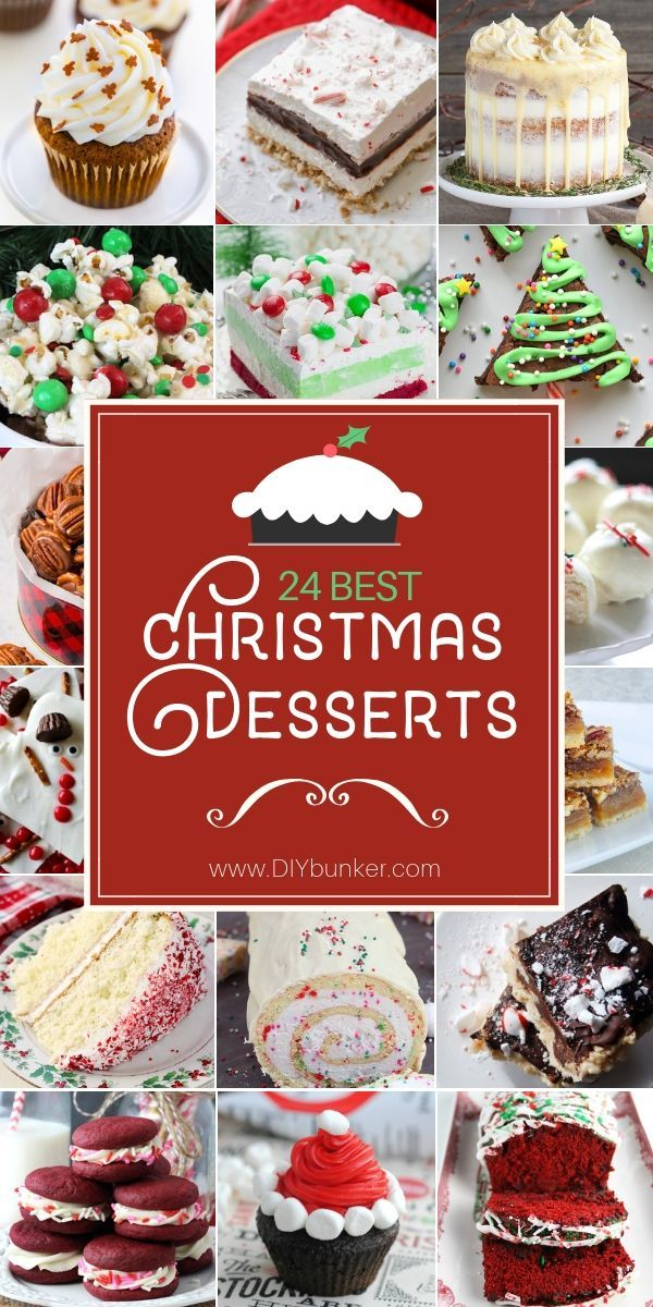 Christmas Dessert Recipes to Make for Holiday Dinners Holiday