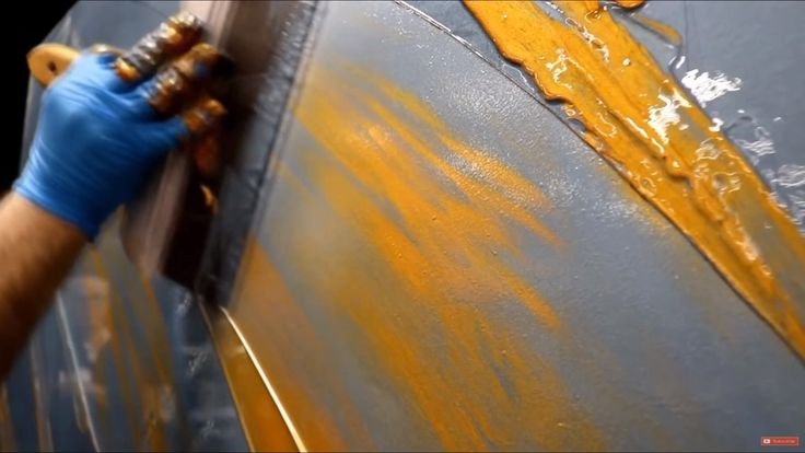 Watch This Metallic Vertical Wall Epoxy For Insets