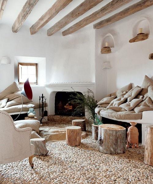 Modern rustic decor <3