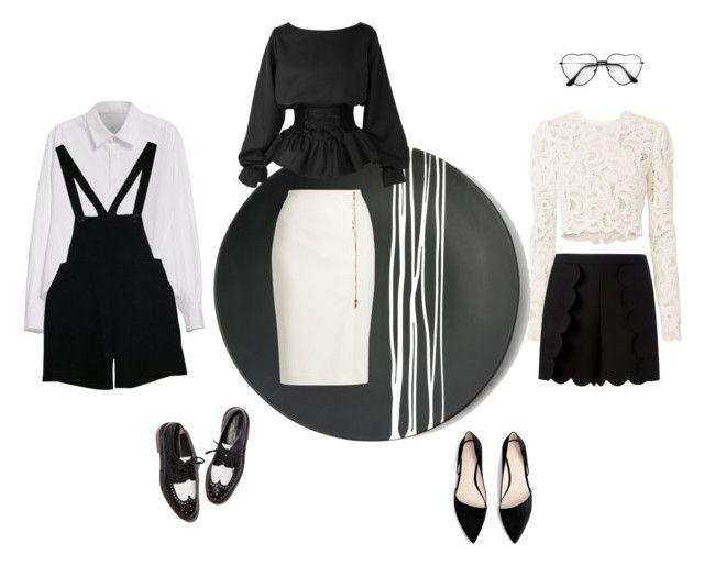Black & White by gabri-ella on Polyvore
