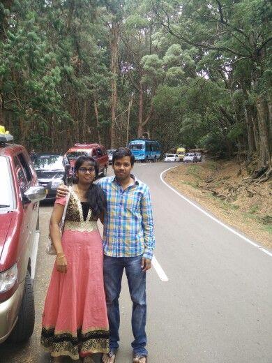 Suahma and me - kodaikanal - July 20th 2015