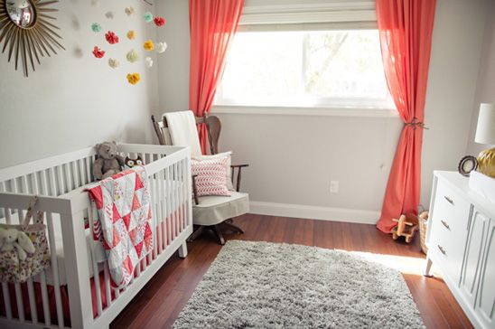 A Lovely, Calming Nursery with the #babyletto Hudson Crib in White