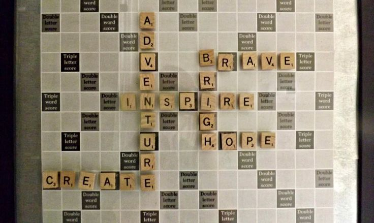 Two Christmas' ago I saw a Groupon for a magnetic scrabble board. It was going to be the perfect gift for Jared, until I realized they w...