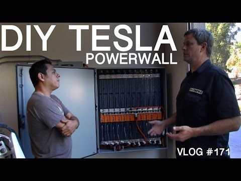 MY POWERWALL vs ELON'S TESLA POWERWALL - YouTube