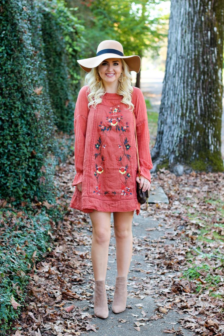 Perfect Thanksgiving Outfit with Red Dress Boutique