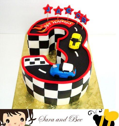 This cake was made by Sara and Bee Cakes.  saraandbee.webs.com