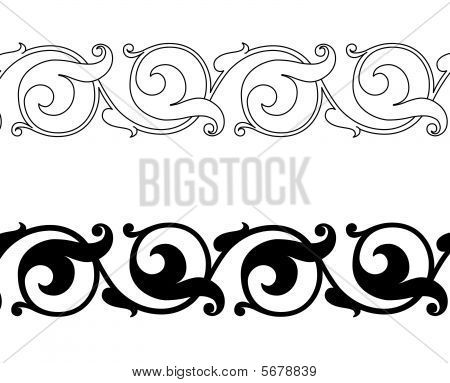 simple scrollwork designs - Google Search