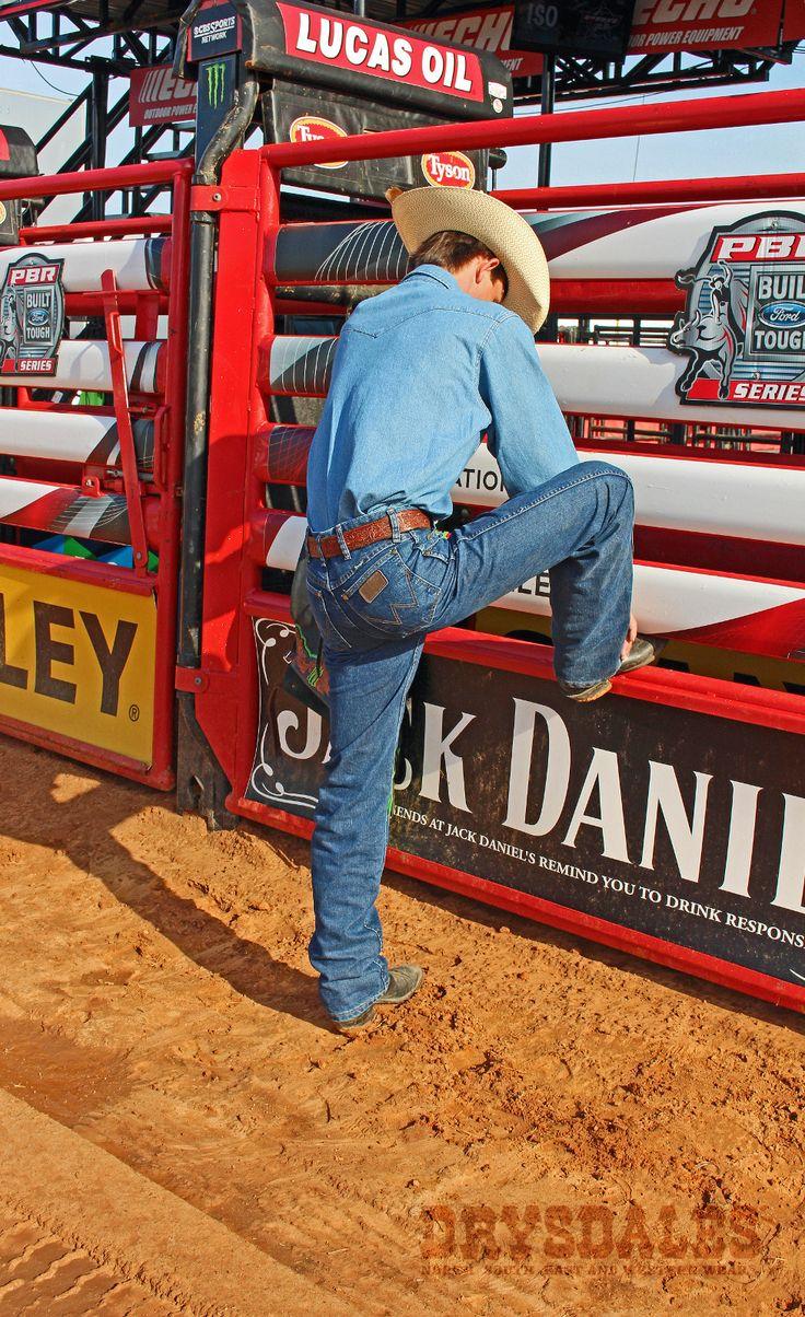 "PBR Champion J.B. Mauney rocks Wrangler Cool Vantage Cowboy Cut Jeans in the rodeo arena | Professional Bull Rider bullrider bullriding ""gifts for cowboys"" ""gifts for men"" ""gifts for rodeo riders"" #8seconds #PBR #PBR2015 eight seconds professional cowboy #prorodeo #cowboys"