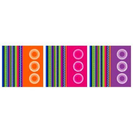 Juego de paños de cocina. Juego de 6 paños de cocina de rizo de Barceló. Composición: 100% algodón (open 500g/m²). Medidas: 50 x 50 cm. El estuche inluye la variedad de colores mostrada en la fotografía.