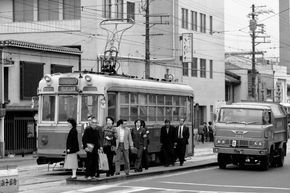 1970年代の京都市電です - 88鉄道写真フォトログ