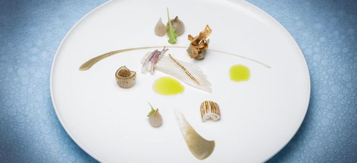 Meet The Chefs Behind #Portugal's Thriving Restaurant Scene- Part 1 - via Food Republic 25.04.2016 | The first report in our multi-part series on Portuguese chefs to know. Photo: Culinary Poetry in Portugal - Squid, Algarvian skate fish, stewed onions and grilled artichoke from Ocean in Portugal.