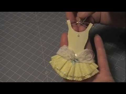 Paper Couture 5: Formal Paper Corset Dress - YouTube