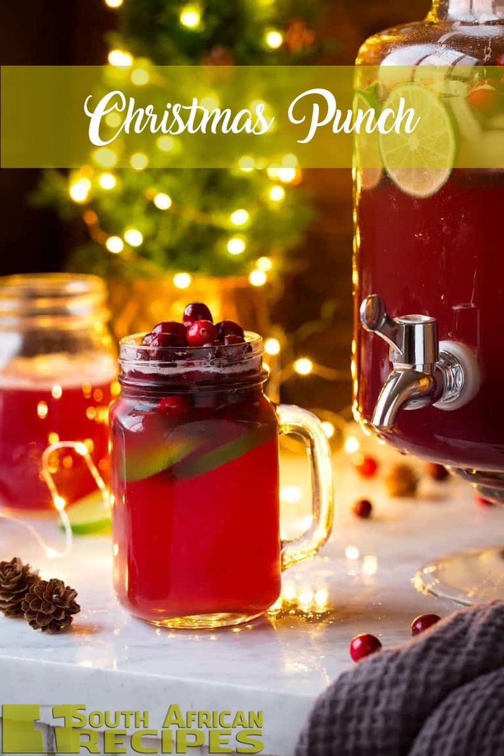 South African Recipes | Christmas Punch