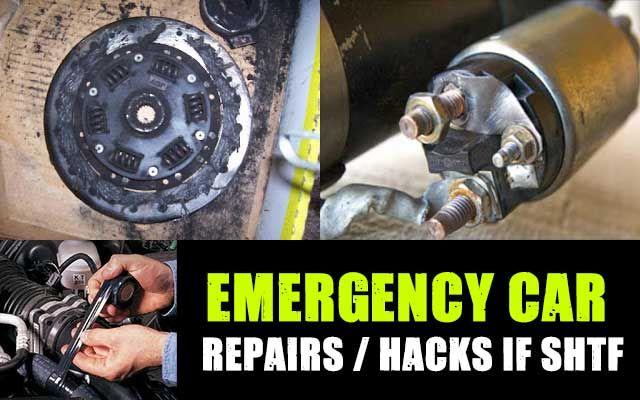 Shtf Emergency Preparedness: Emergency Car Repairs If SHTF