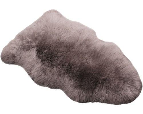 Schaffell taupe 90x60 cm