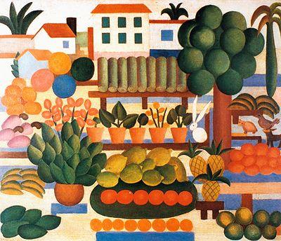 A feira II, 1925 / Tarsila do Amaral