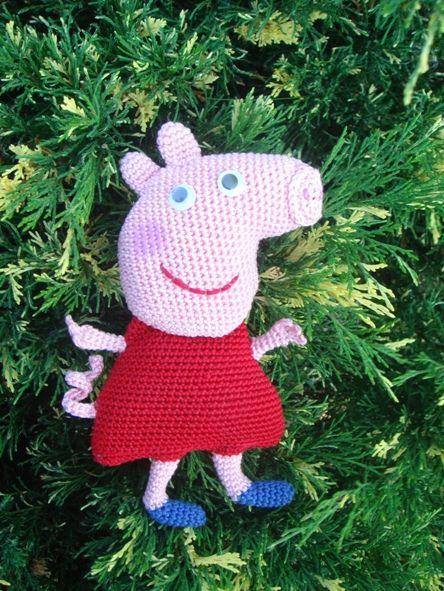 Свинка Пеппа от Марии Уфимцевой. Крючок.